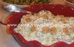Yoğurtlu Tavuk Salatası |Pratik yemek tarifleri, resimli pratik yemek tarifleri ,oktay usta, kolay yemek tarifleri | Yemektarifleri | Scoop.it