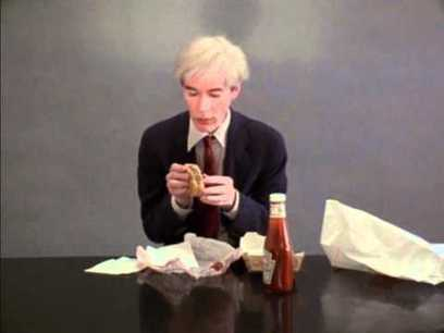 Andy Warhol Eats a Burger King Whopper, and We Watch … and Watch | A Cultural History of Advertising | Scoop.it