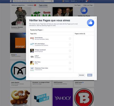 Comment se désabonner de toutes les pages indésirables sur Facebook | On dit quoi ? | Scoop.it