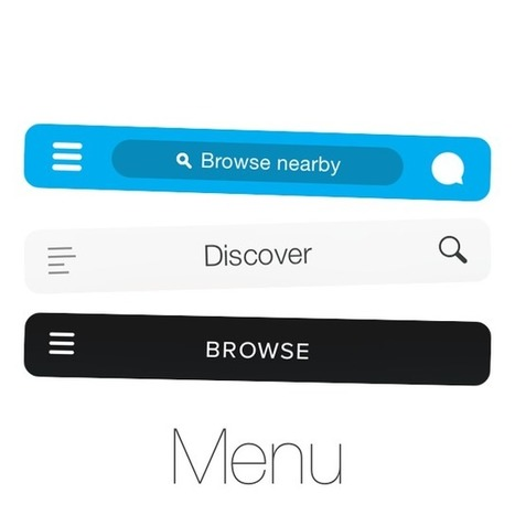 Why and How to Avoid Hamburger Menus - Louie A. - Mobile UX Design | Mobile Marketing | Scoop.it
