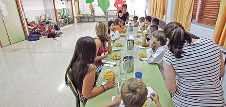 Solo la mitad de los menús escolares incluye las frutas y hortalizas recomendadas   Nutrición y Salud   Scoop.it