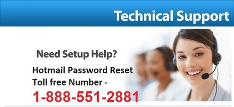 Gear up your errors with live hotmail technical support 1-888-551-2881   Hotmail Password Recovery   Scoop.it