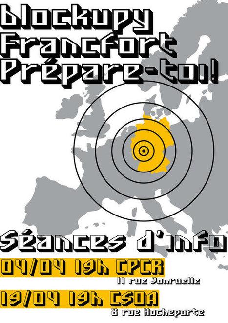 16-19 mai à Francfort : Journées d'action contre le régime de crise de la troïka | Occupy Belgium | Scoop.it