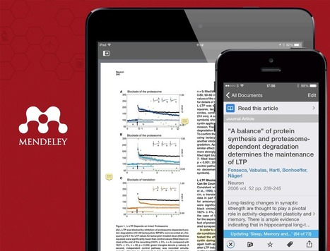 Mendeley for iOS7 | Mendeley Blog | François MAGNAN - Documentaliste et Formateur Consultant | Scoop.it