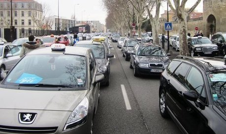 Très forte perturbation du trafic à Toulouse : les taxis paralyseront la ville | Toulouse La Ville Rose | Scoop.it