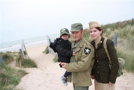 6 juin 1944 : De la Corrèze aux plages du Débarquement: un couple de jeunes passionnés | Rhit Genealogie | Scoop.it