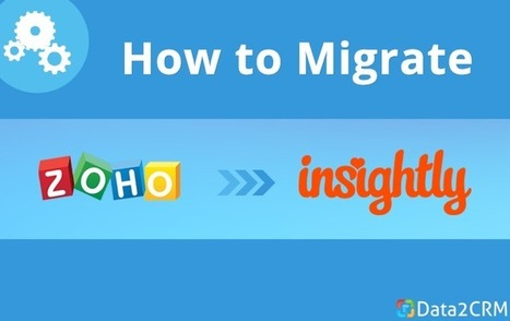 How to Migrate from Zoho to Insightly: Improving Scalability | CRM Reviews | Scoop.it