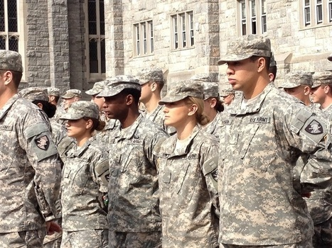 West Point Women: A Natural Pattern Or A Camouflage Ceiling? - NPR | Gender, Religion, & Politics | Scoop.it