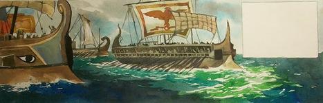 La guerre des Gaules: Work in progress // T.2 // Galères vers la Bretagne | La Guerre des Gaules en BD | Scoop.it