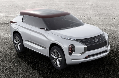 Mitsubishi GT-PHEV: Conceptual crossover with a hybrid power plant - Your News Ticker | technologynews | Scoop.it