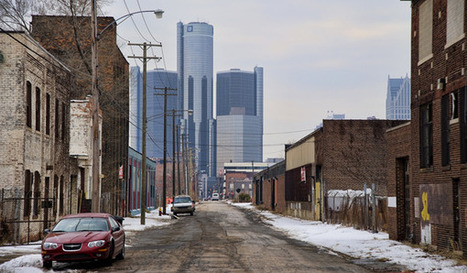 Detroit: The 'Shrinking City' That Isn't Actually Shrinking | AP Human Geography Education | Scoop.it