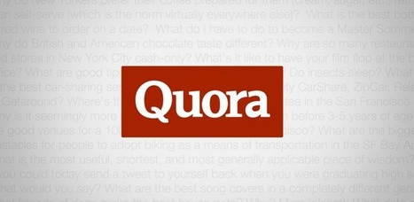 Quora - Applications Android sur GooglePlay   mlearn   Scoop.it