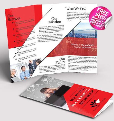 27 Free Best Business Brochures Templates in PSD | El Mundo del Diseño Gráfico | Scoop.it