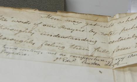 Fragment of Jane Austen's handwriting found | Quite Interesting News | Scoop.it