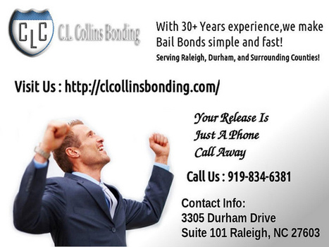 Bail Bondsman in Chaelotte, NC | Raleigh Bail Boding | Scoop.it