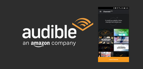 "Audible lanza ""Canales"" como una fuente de podcasts y noticias 
