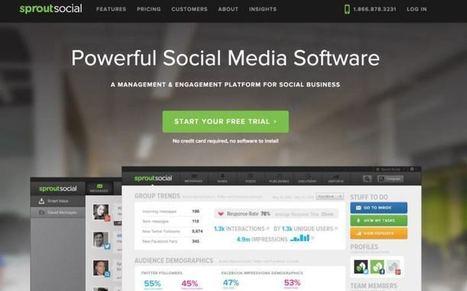 Sprout Social. La gestion pro de tous vos médias sociaux | Les outils de la veille | Les outils du Web 2.0 | Scoop.it