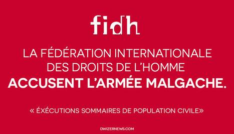 La FIDH épingle l'armée Malgache. - DwizerNews | Politique, société | Scoop.it