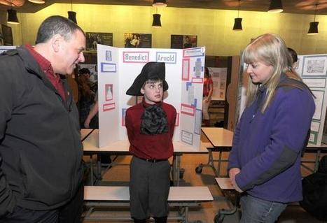 Tiverton Middle School students relive America's Colonial days | TMS Rocks! | Scoop.it