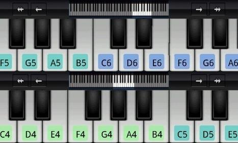 Perfect Piano: aprende a tocar el piano desde un tablet o smartphone Android | Las TIC y la Educación | Scoop.it