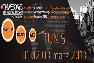First edition of 'Tnwebdays' set for March 1-3 in Tunis | TNWebdays : les évènements web et high tech en Tunisie | Scoop.it
