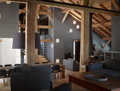 Villa Solaire : chalet de luxe à Morzine | Archiboom, l'architecture et le design par ceux qui les font ! - Blog CotéMaison.fr | Revue Déco du Web par Du Côté de Chez Vous | Scoop.it