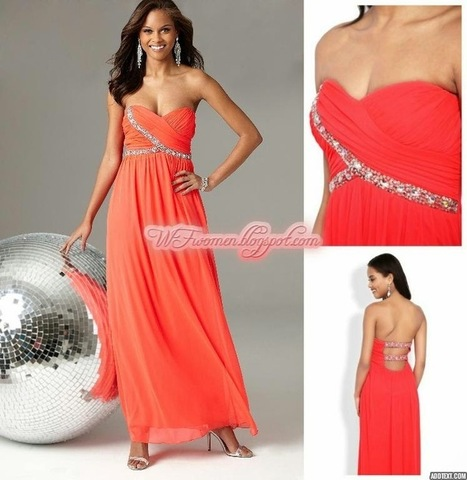 Latest Party Wear Prom Dresses For Girls From Summer 2014 | Women Fashion | Women fashion | Scoop.it