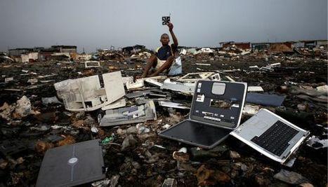 ¿Adónde van los móviles, ordenadores, microondas o frigoríficos viejos?. La basura tecnológica inunda África   Mi mundo verde   Scoop.it