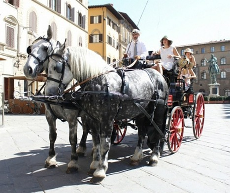 Discover Tuscany in a carriage | Italia Mia | Scoop.it