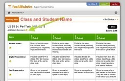 Score Rubrics on Your iPad | Interpreter education | Scoop.it