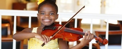 Listen Up: 7-Year-Old Violinist on a Mission | WELCOME TO MY WORLD OF MANY CAUSES | Scoop.it