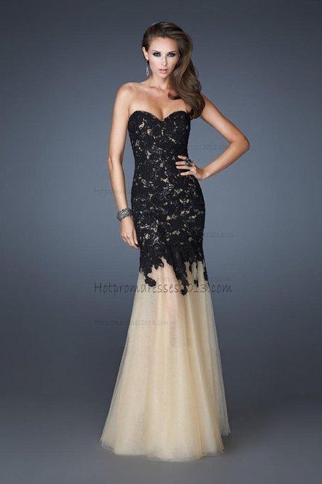 Long Black Lace Mermaid Evening Dress [Lace Mermaid Evening Dress] - $238.00 : Discount Dresses for Prom 2013,Up 50% Off   fashion   Scoop.it