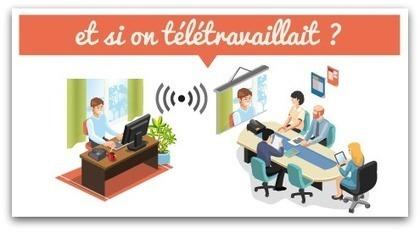 Le télétravail, un levier d'amélioration des conditions de travail et de la performance de votre entreprise | Déclic Mobilités | CCGAM Télécentre | Scoop.it