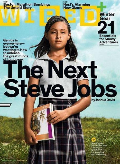 Niña mexicana de 12 años sucesora de Steve Jobs, según Wired | Clases de Periodismo | Sociedad 3.0 | Scoop.it