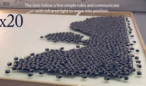Watch a Swarm of tiny Robots called Kilobot's in action | Technology in Business Today | Scoop.it