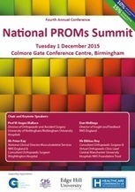 National PROMs Summit 2015 - Healthcare Conferences UK   EQ-5D   Scoop.it