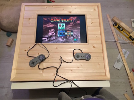 The eX(pedit)-BOX - An arcade coffee table - IKEA Hackers | [OH]-NEWS | Scoop.it