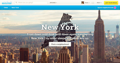 Airbnb vs New York City: The Defining Fight of the Sharing Economy | Web 2.0 et société | Scoop.it