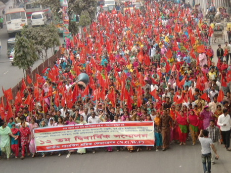 National Garment Workers Federation Congress | Asian Labour Update | Scoop.it