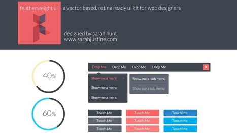 36 High-Quality Flat Design Resources   Website Graphic Design, UI and UX   Scoop.it