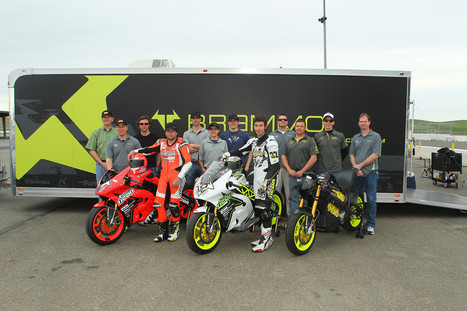 The 2013 Team ICON Brammo race team at Thunderhill. | Brammo Electric Motorcycles | Scoop.it