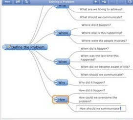 Top 10 iPad Apps to Create Mindmaps ~ Educational Technology and Mobile Learning | iPads in Education | Scoop.it