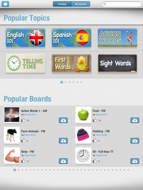 Bitsboard - A Super iPad App for Spelling and Reading Practice | Edtech PK-12 | Scoop.it