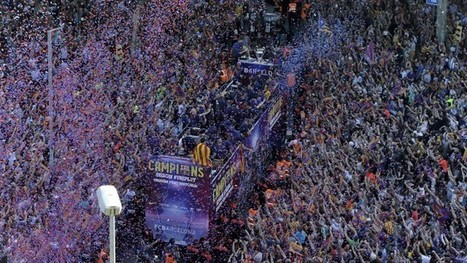 Barcelona fans welcome home team after becoming kings of Europe again – video - The Guardian | AC Affairs | Scoop.it