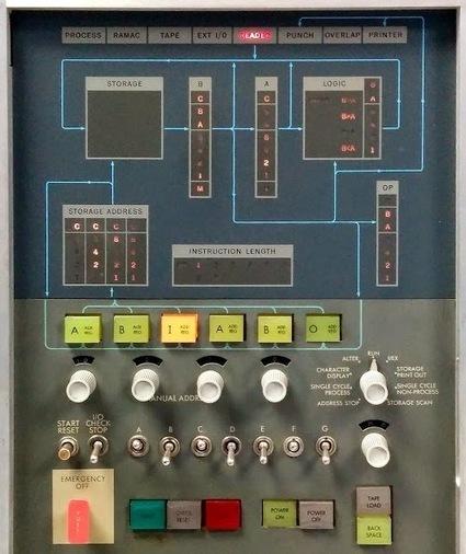 12-minute Mandelbrot: fractals on a 50 year old IBM 1401 mainframe | Tudo o resto | Scoop.it