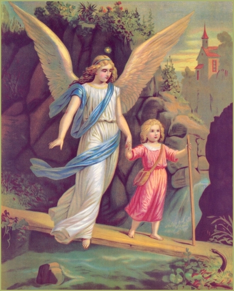 Guardian Angels: 7 Interesting Facts - Taylor Marshall | Interesting facts | Scoop.it