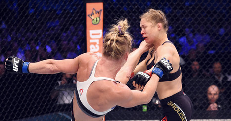 We Calculated How Hard Holly Holm Kicked Ronda Rousey in the Face   Physics   Scoop.it