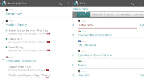 Aereo app brings live TV streaming to devices running Android 4.2 Jelly Bean or later | Music Service and app | Scoop.it