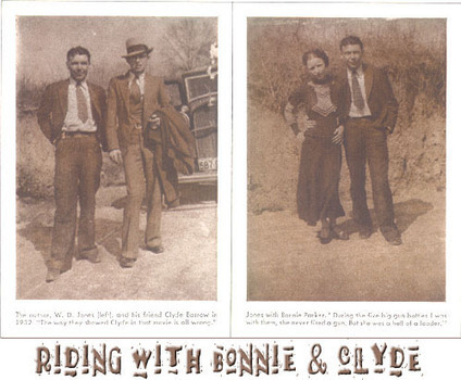 Primary Document 2   First Account Reprint     Riding with Bonnie and Clyde by W.D. Jones | Crimes of the 1930s by MP | Scoop.it