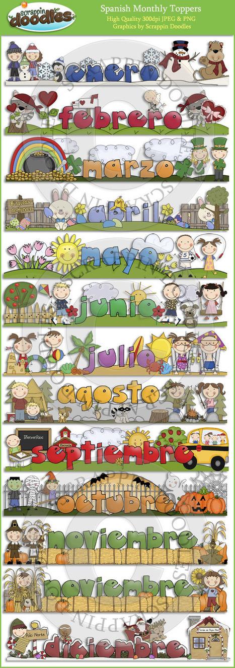 Los meses del año | Español para los más pequeños | Scoop.it